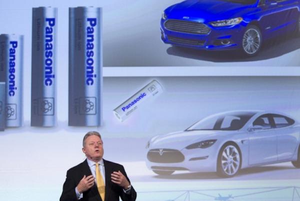 Panasonic 發佈車用電池