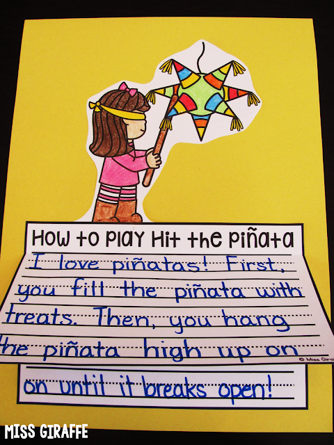 Las Posadas piñata writing craft activity and other fun Christmas around the world ideas