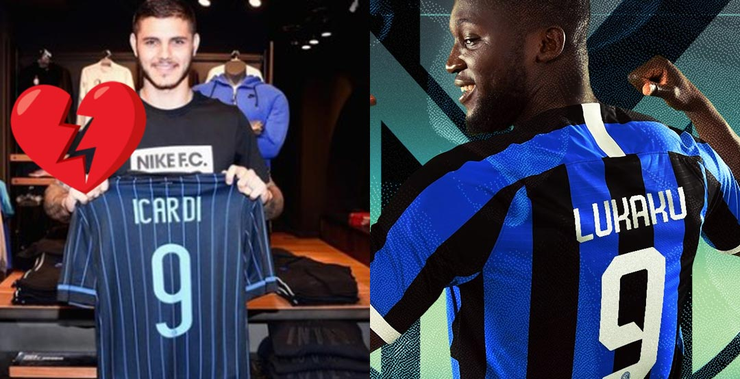 best website 175c5 23cc5 Official: Icardi Gets #7 Shirt - But Doesn't Make Inter ...