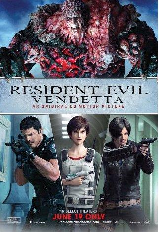 Resident Evil Vendetta 2017 English Full Movie Download