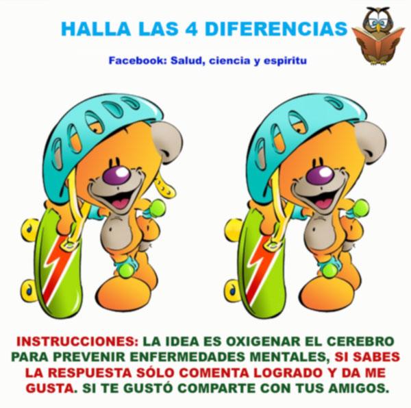 juego de buscar diferencias como terapia visual niños y adultos