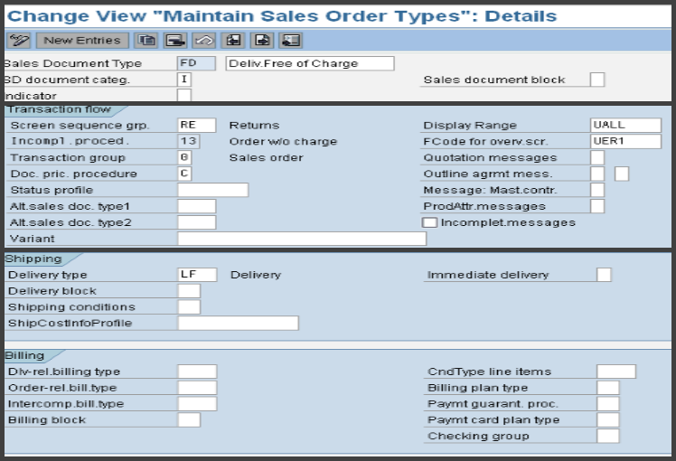 SAP Tutorials: Free Of Charge Delivery & Subsequent Delivery