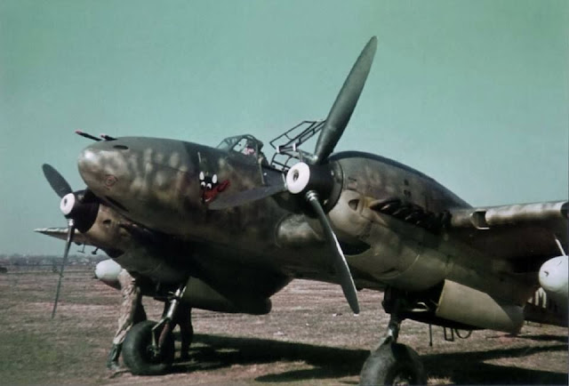 Bf-110 Planes in color worldwartwo.filminspector.com