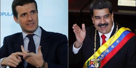 """El líder del Partido Popular español: Hay que """"derrocar inmediatamente"""" al """"sátrapa"""" y """"tirano"""" de Maduro"""