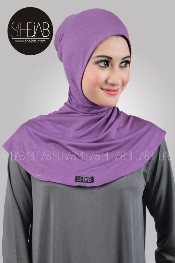 Ciput Ninja Antem Ungu Shejab