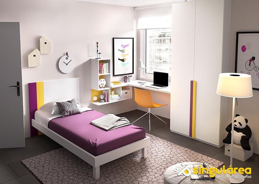 Infantil con armario 859 - Dormitorios infantiles valencia ...