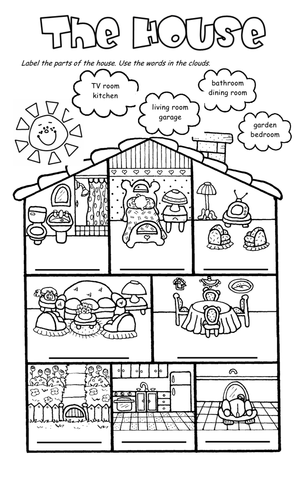 Joinin,Speakup-teachernick: The House Song and worksheet