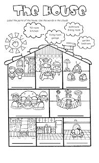 Joinin,Speakup-teachernick: The House Song and worksheet