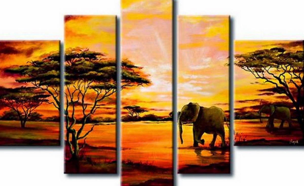 Cuadros modernos pinturas y dibujos paisajes para pintar - Fotos cuadros modernos ...