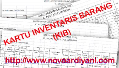 Format Pengisian Kartu Inventaris Barang (KIB) di Sekolah