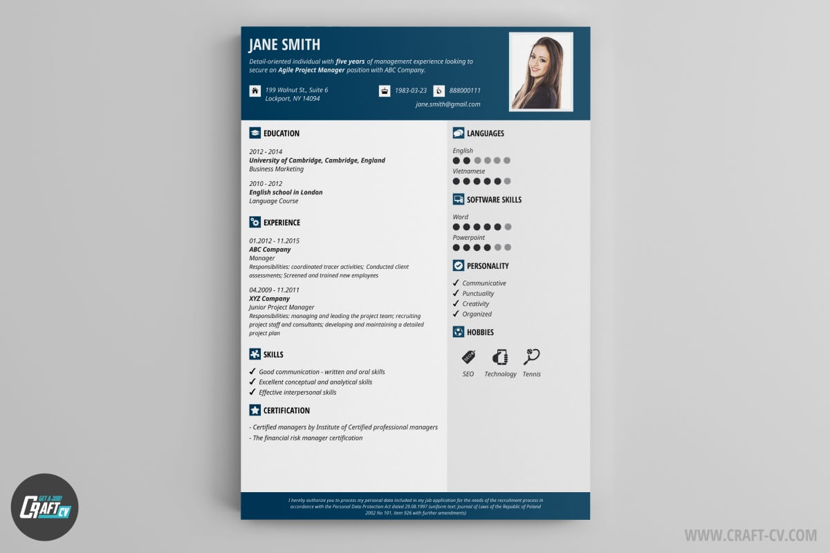 Creative Resume Maker Online Free