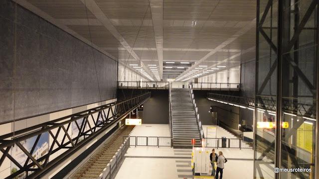 Estação de metrô Bradenburg Tor - Berlim