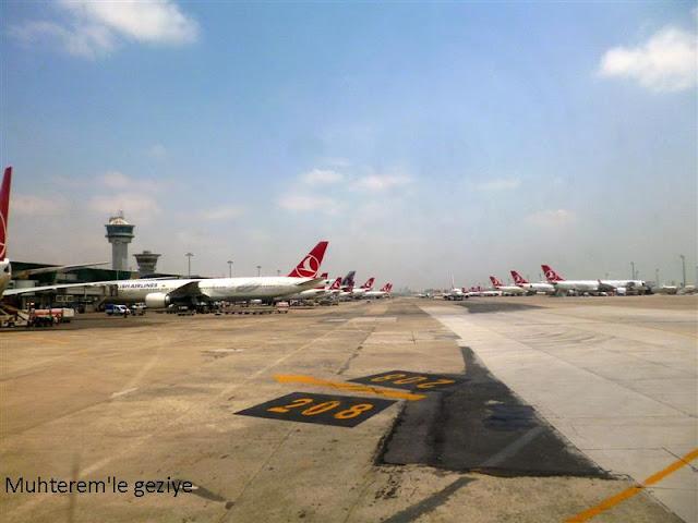 Atatürk havalimanı apron