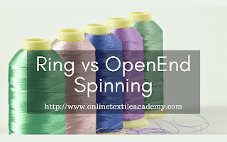 Ring Spinning vs. Open-end Spinning