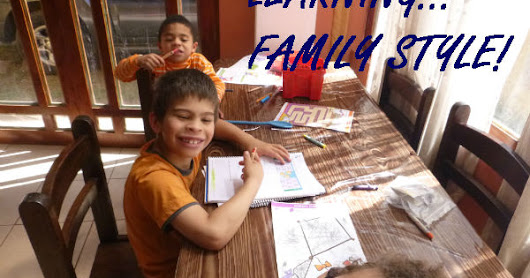 10 Days of Homeschooling with Diabetes - part 5 Family learning ideas