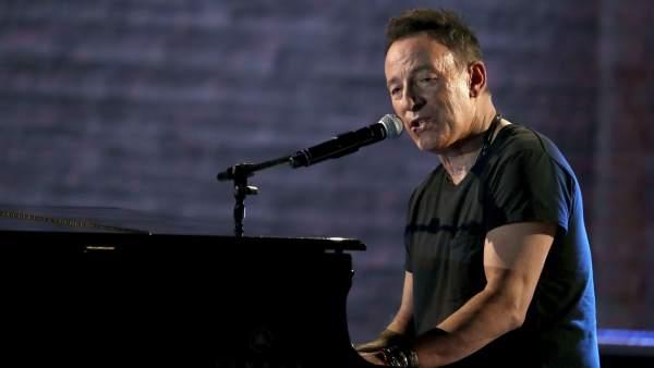 Bruce Springsteen, durante la ceremonia anual de los premios Tony, celebrados en Junio de 2018 en Nueva York