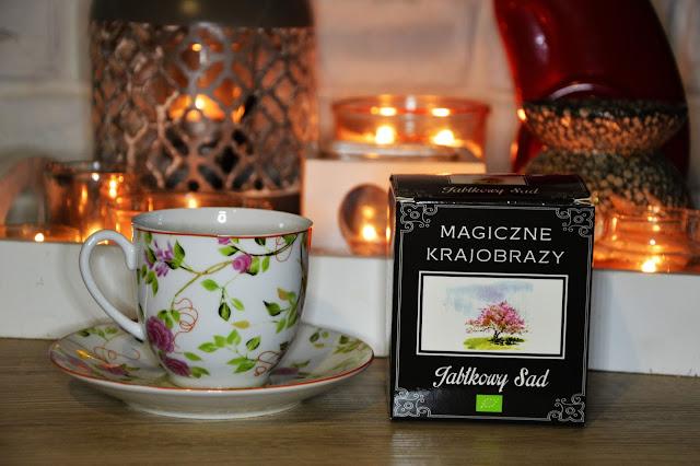herbata smakowa jabłkowy sad idealna do ciast i deserów