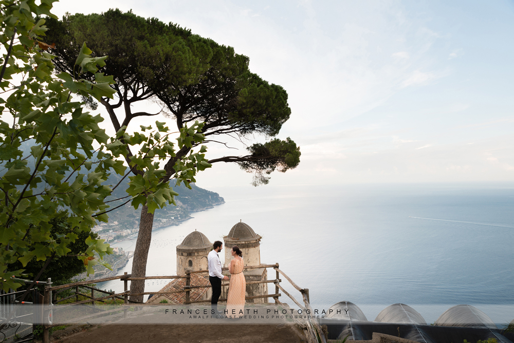 Newly engaged in Ravello