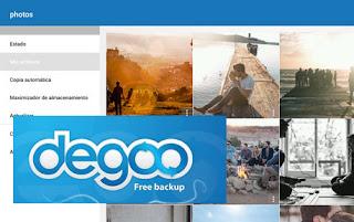 Consigue 100 GB Gratis en la nube en Degoo