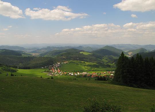Góry Kisuckie (słow. Kysucká vrchovina).