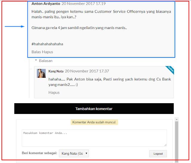 Pengalaman  Mengembalikan Komentar Blog Yang Terhapus Tidak Sengaja