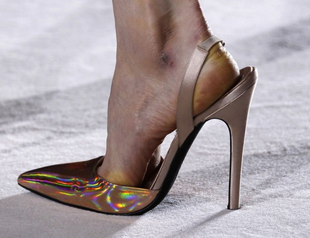 giambattista valli hologram pumps