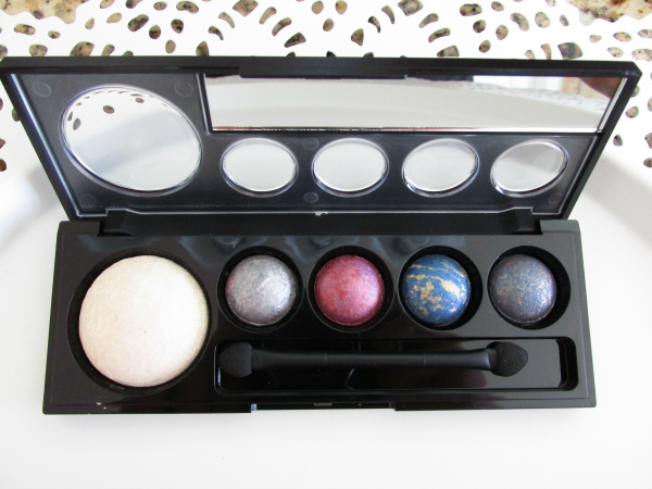 Makeup Factory - Eye Shadow Jewels Palette review & MOTD