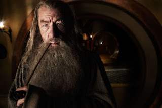 Ian McKellen as the grand old wizard Gandalf the Grey, directed by Peter Jackson
