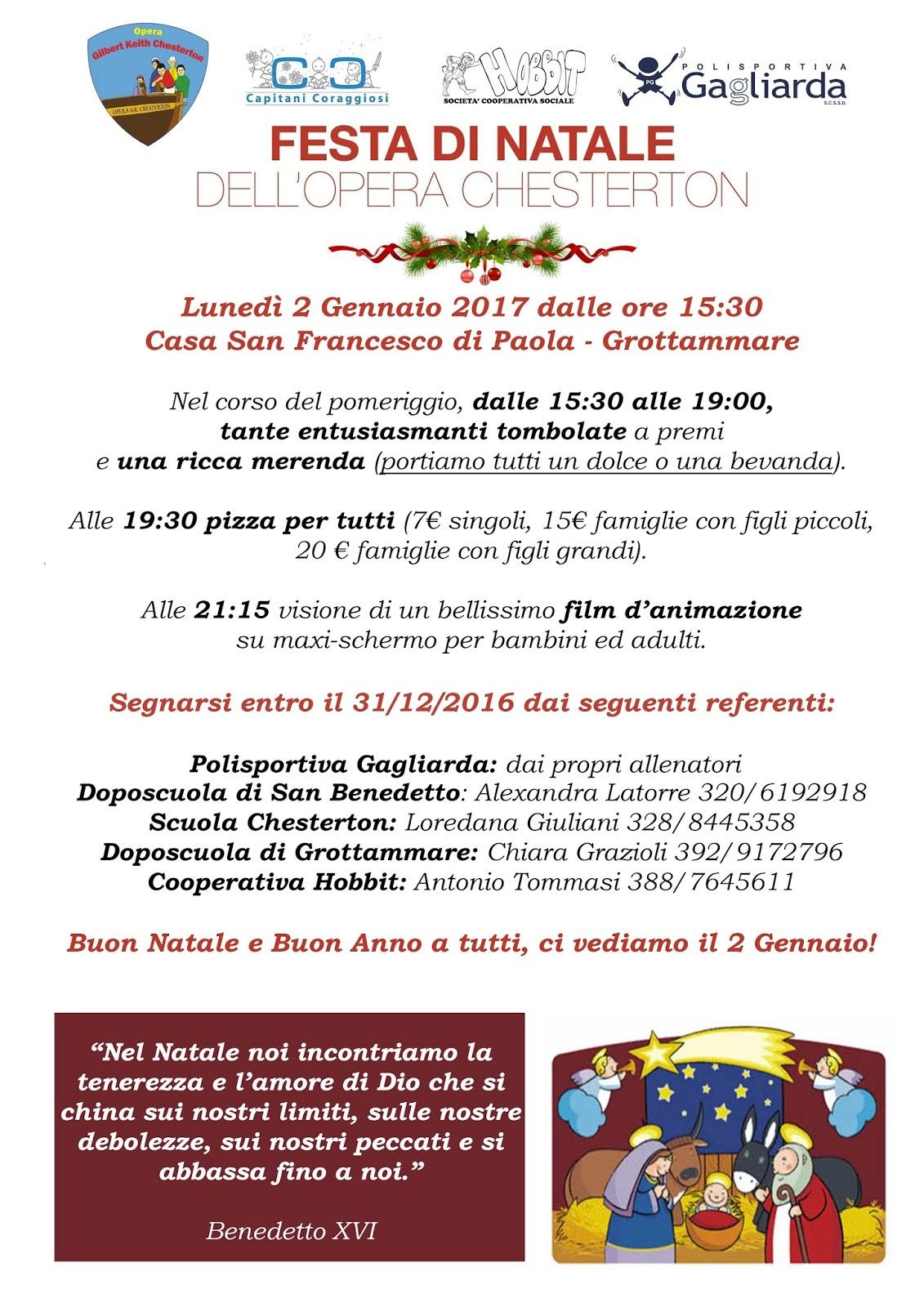 Auguri Di Natale Per I Figli.Polisportiva Gagliarda Tanti Cari Auguri Di Un Santo Natale E Di