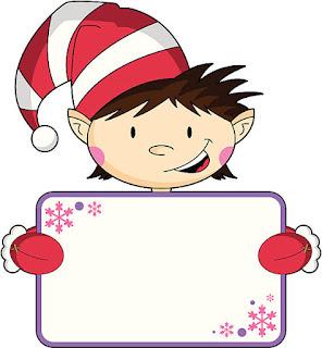 Clipart de Navidad Divertida.