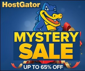 Mystery Savings Sale Up to 65% Off Of New Hosting