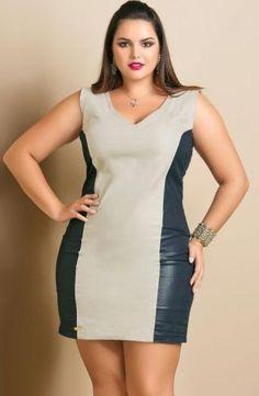 Vestidos cortos para mujeres gordas