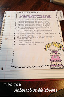 Tips for interactive notebooks: Blog post is about using them in the music classroom, but tips could apply to any classroom!