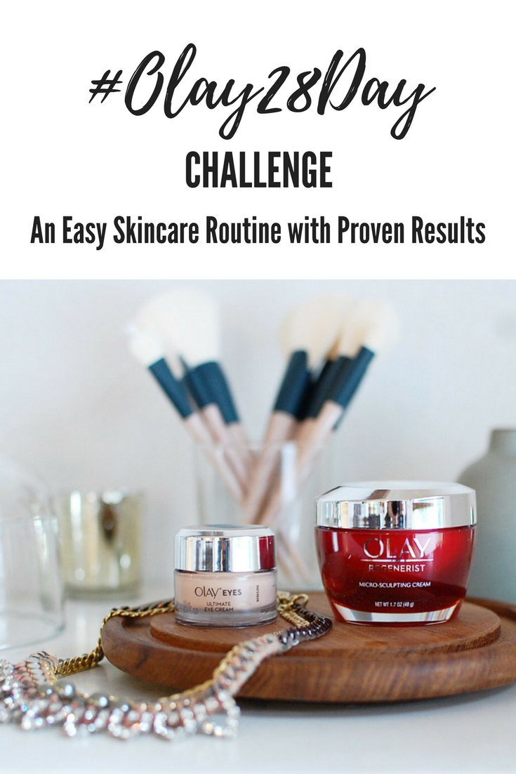 Olay 28 Day Challenge: An Easy Skincare Routine with Proven Results