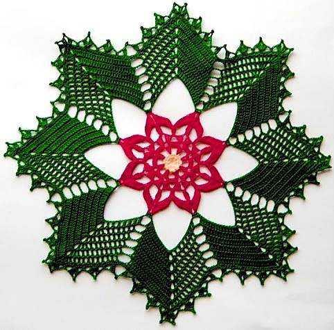 Patrón #763: Tapete a Crochet