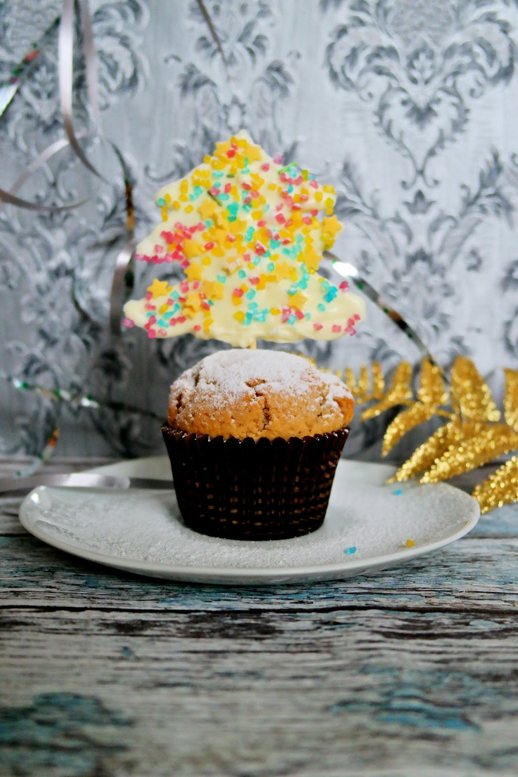 Świąteczne muffiny z kajmakiem