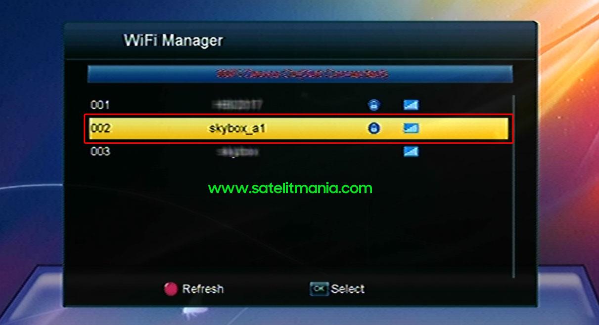 Cara Memulai Koneksi WiFi di Receiver Skybox A1