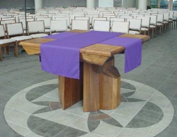 Resultado de imagem para mesa missa nova