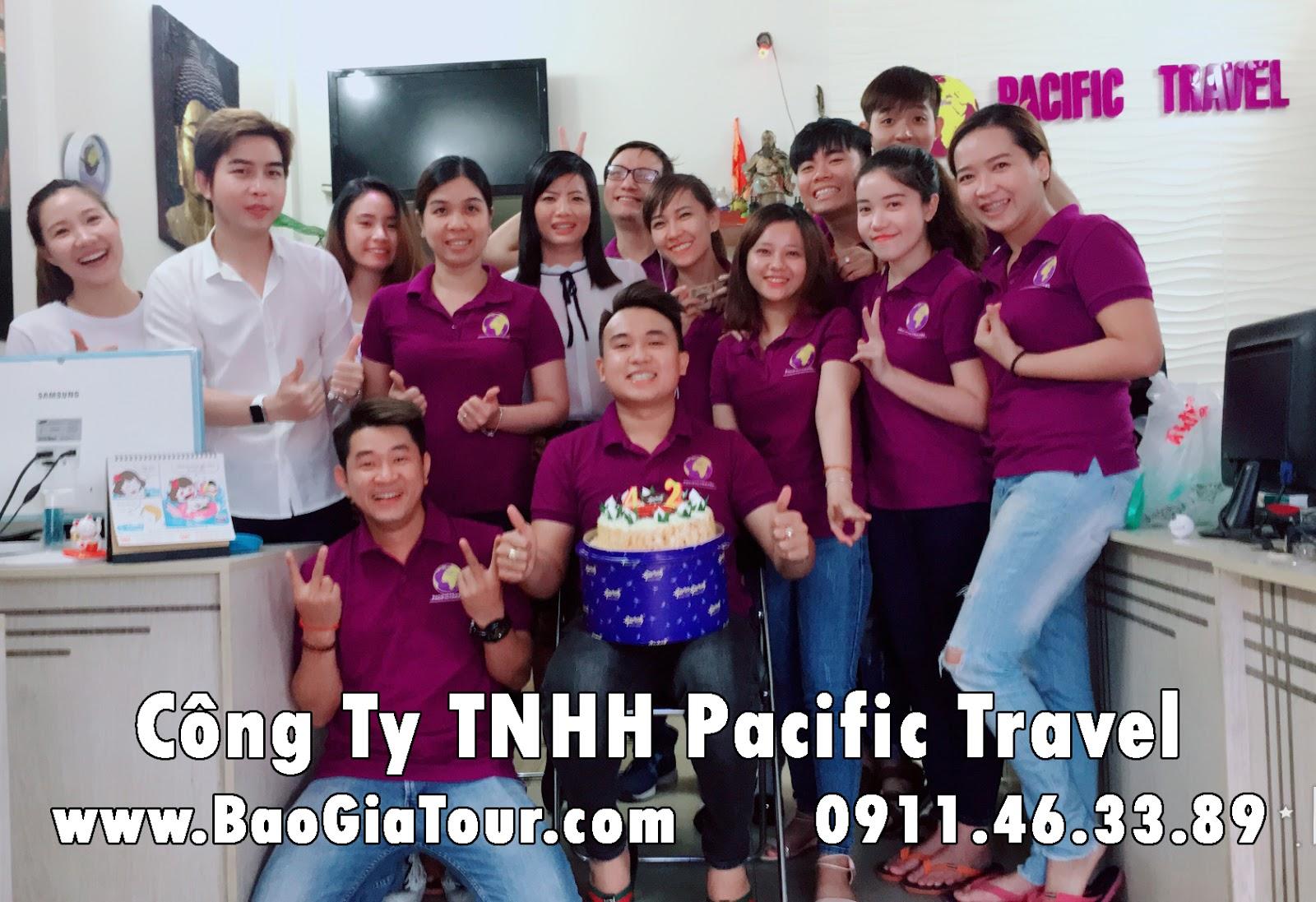 Địa chỉ văn phòng Công Ty TNHH Pacific Travel TPHCM