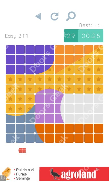 Cheats, Walkthrough for Blocks and Shapes Level 211