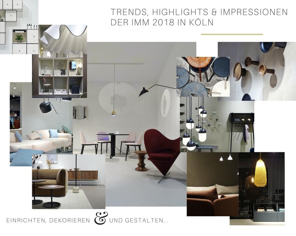 Impressionen und Trends von der Internationalen Möbelmesse 2018 in Köln - Messetour mit Blogst Lounge - byLassen - http://mammilade.blogspot.de