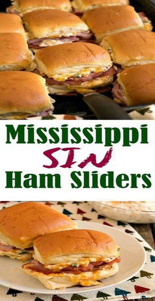 Mississippi Sin Ham Sliders Recipe