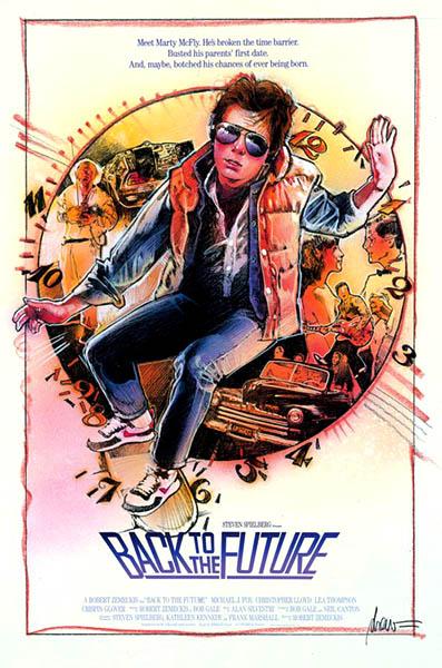 Regreso al futuro Poster Drew Struzan 2