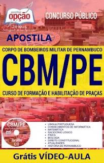 Apostila CBM-PE - Curso de Formação e Habilitação de Praças - Bombeiros/PE