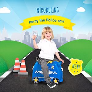 Percy the Police Car Trunki