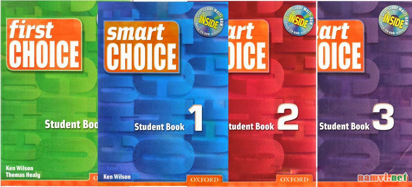 bo giao trinh First Choice, Smart Choice 1, 2, 3