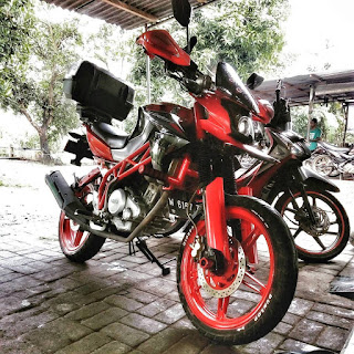 Modifikasi Motor Yamaha Vixion 19