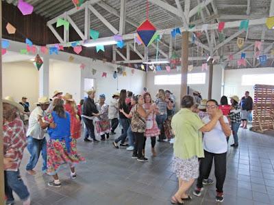 Centro de convivência do idoso de Miracatu realiza Festa Junina