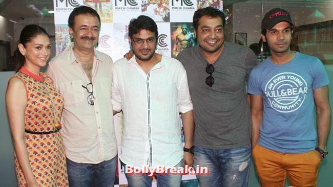 Aditi Rao, Rajkumar Hirani, Mukesh Chhabra, Anurag Kashyap, and Rajkummar Rao, Shradha  & Aditi at Mukesh Chhabra Casting Studio Launch