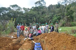 """Projeto """"Plantado Águas"""" já instalou mais de 50 sistemas de saneamento de baixo custo no Vale do Ribeira"""